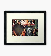 biggie smalls tupac  Framed Print