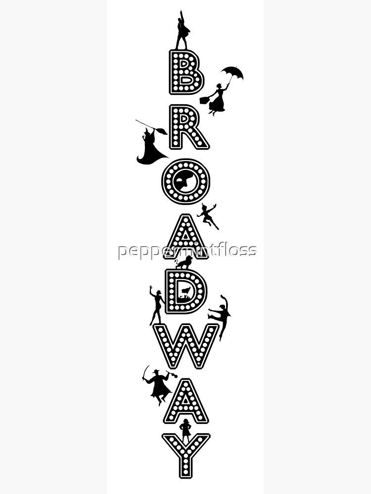 Celebración de Broadway Marquee de peppermintfloss