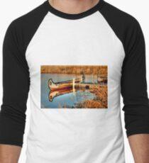 MOORED!!! Men's Baseball ¾ T-Shirt