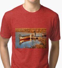 MOORED!!! Tri-blend T-Shirt
