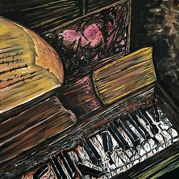 Broken Piano by Adamzworld