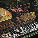 Broken Piano by Adam Santana