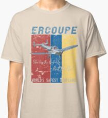 Ercoupe Retro 1940's Aircraft Inspired Design Classic T-Shirt