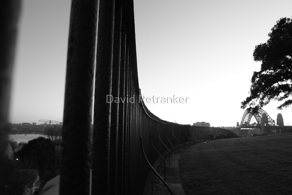 Fence to a Bridge by David Petranker