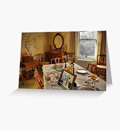 Breakfast Room Greeting Card