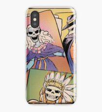 Skull-Headed Heroes iPhone Case/Skin