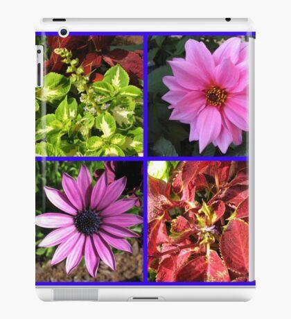Summer Flowers and Plants Collage iPad-Hülle & Klebefolie