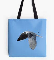 WhiteTailed Kite Flies to the Nest Tote Bag