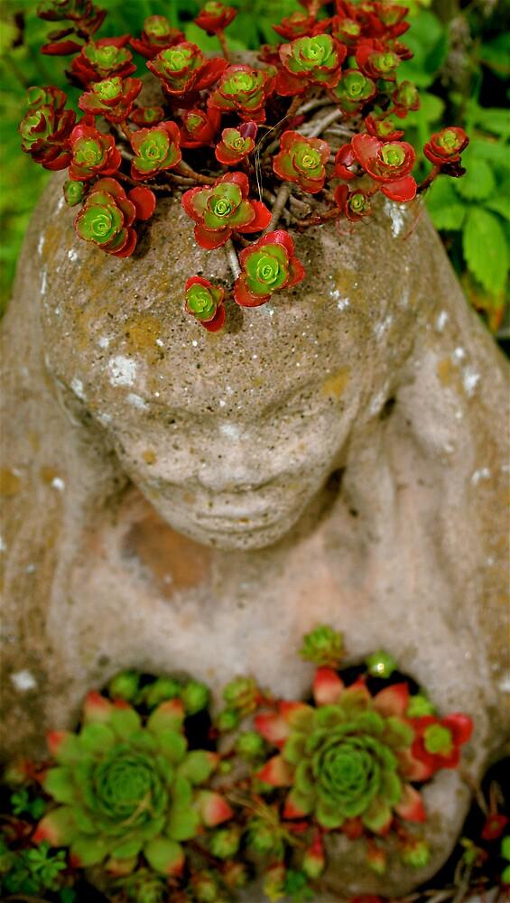Goddess,Healing Field Gathering by Amanda Gazidis