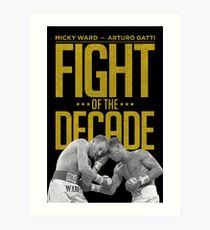 Fight Of The Decade Art Print