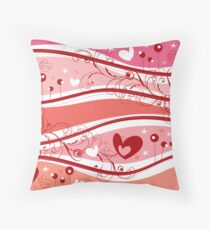 Valentine Fantasy Throw Pillow