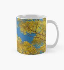 Aspen-Bäume gegen Himmel Tasse (Standard)