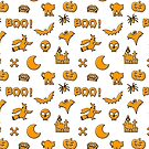 Halloween Pattern by EthosWear