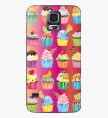Cupcakes Galore Delicious Yummy Sugary Sweet Baked Treats Case/Skin for Samsung Galaxy