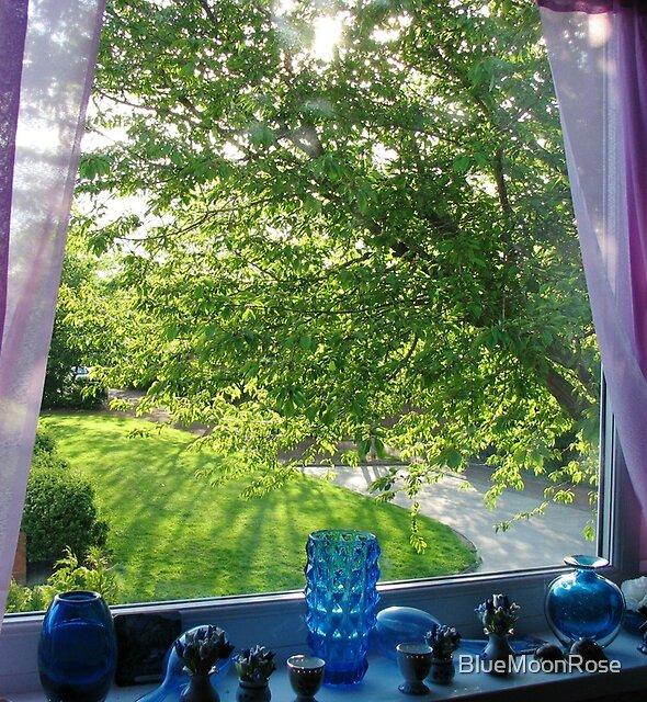 Beneath My Window - Nostalgic View by BlueMoonRose