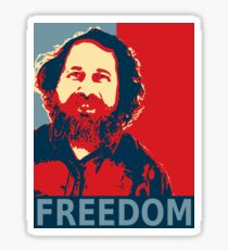 Richard Stallman Free Software Sticker Sticker