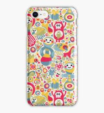Cute and crazy. iPhone Case/Skin