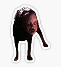 Nightmare on Elm Street 2 Dog Sticker