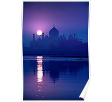 Blue Taj Mirage - Poster