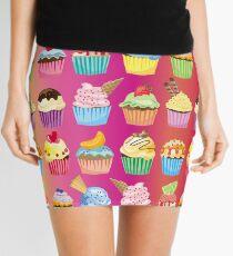 Cupcakes Galore Delicious Yummy Sugary Sweet Baked Treats Mini Skirt