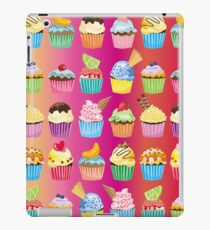 Cupcakes Galore Delicious Yummy Sugary Sweet Baked Treats iPad Case/Skin