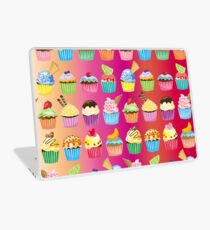 Cupcakes Galore Delicious Yummy Sugary Sweet Baked Treats Laptop Skin