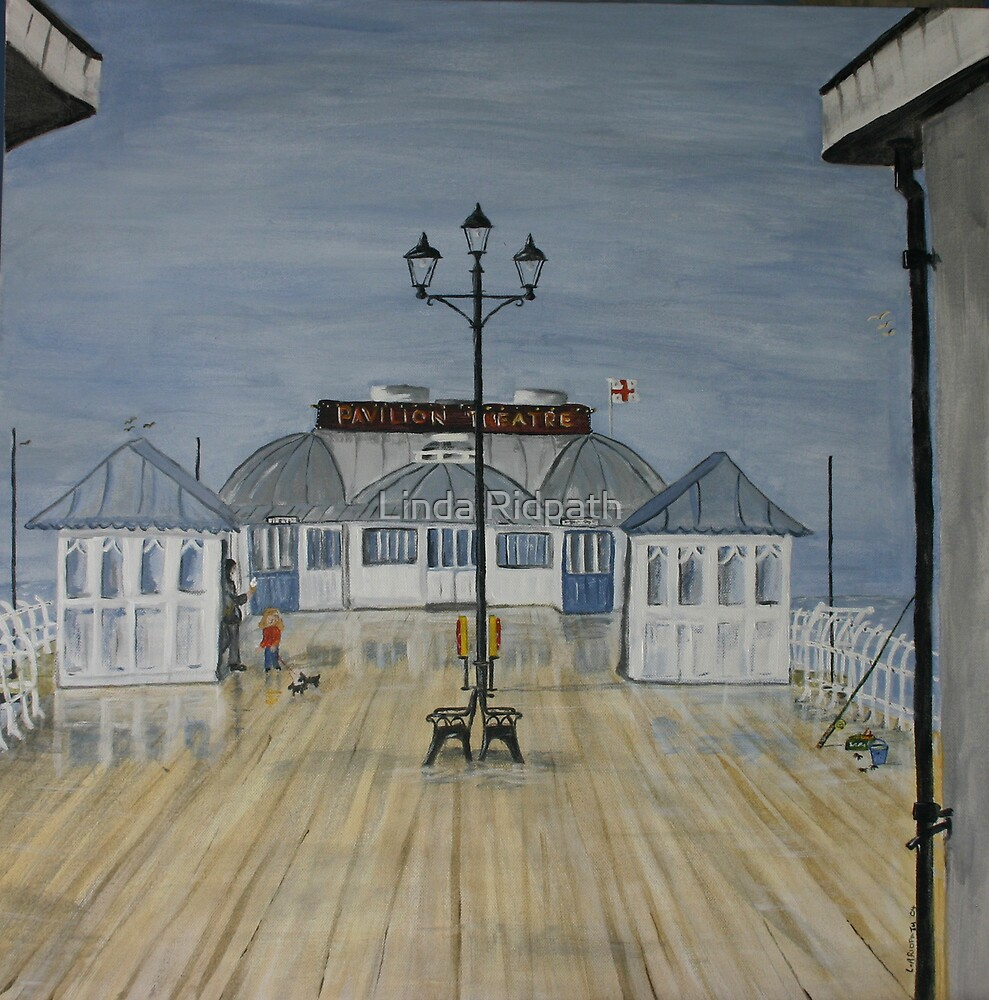 Cromer Pier, Norfolk UK   Wet summer!!! by Linda Ridpath