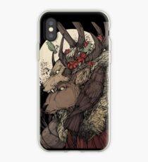 The Elk King iPhone Case
