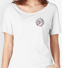 Niall floral logo  Women's Relaxed Fit T-Shirt