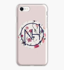 Niall floral logo  iPhone Case/Skin