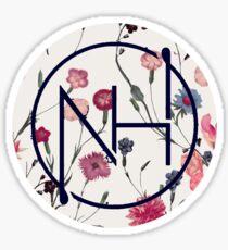 Niall floral logo  Sticker