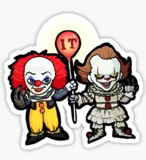 Pennywise Twins Sticker