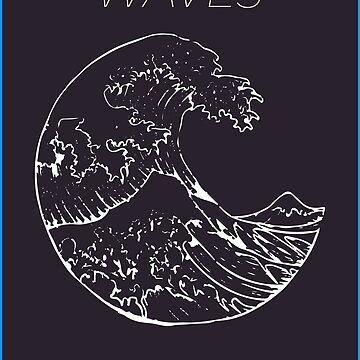 Waves by ahmedburdette