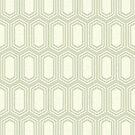 Elongated Hexagon Geometric Pattern (Fill Light on Dark Neutral Grey) by KristyKate