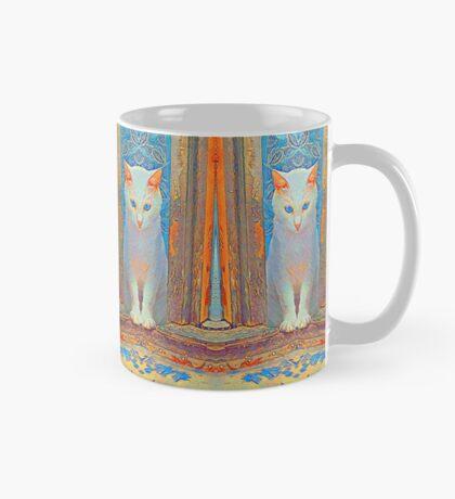 Symmetrical cat Mug