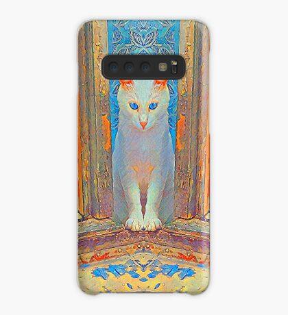 Symmetrical cat Case/Skin for Samsung Galaxy
