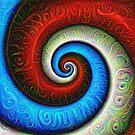 #DeepDream Color Fibonacci Visual Areas by blackhalt