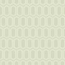 Elongated Hexagon Geometric Pattern (Line Light on Dark Neutral Grey) by KristyKate