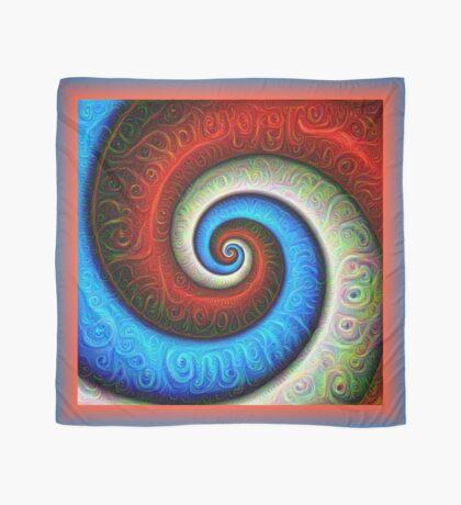 #DeepDream Color Fibonacci Visual Areas Scarf