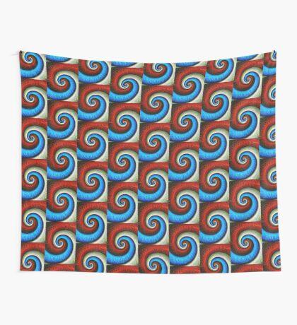 #DeepDream Color Fibonacci Visual Areas Wall Tapestry