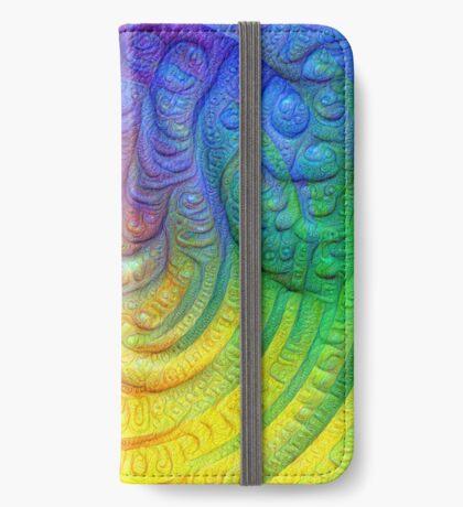Color Foam #DeepDream iPhone Wallet