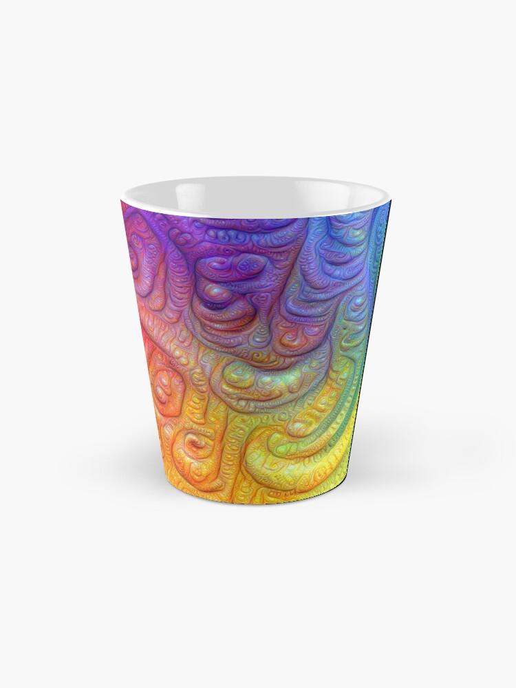 Alternate view of Color Foam #DeepDream Mug