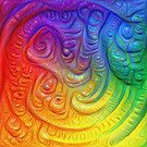Color Foam #DeepDream by blackhalt
