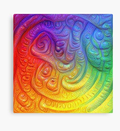 Color Foam #DeepDream Metal Print