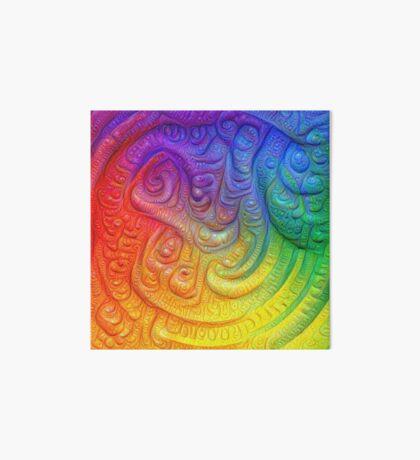 Color Foam #DeepDream Art Board Print