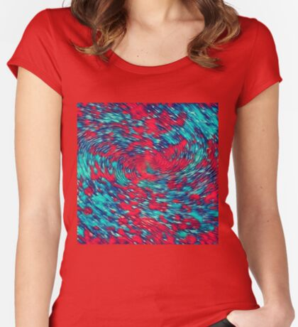 Color streams Fitted Scoop T-Shirt