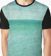 Tranquility - sea and sky in aqua blue Graphic T-Shirt