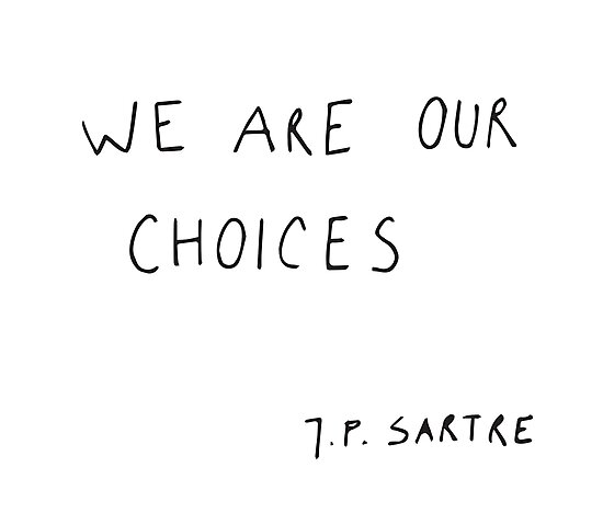 we are our choices III. by ElisaGabi