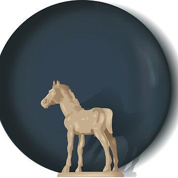 White Pony by CarvedGreenman