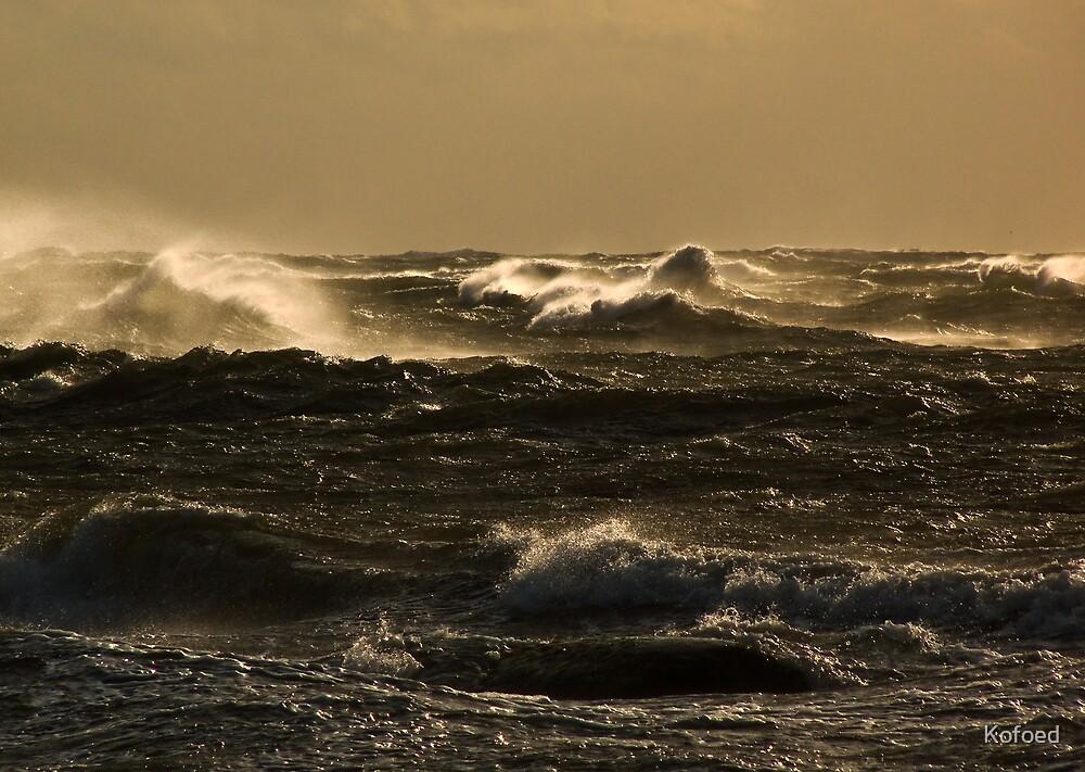 Turbulent Sea by Kofoed